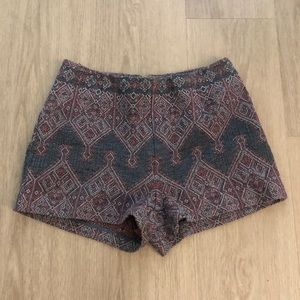 Urban Outfitters Tapestry Shorts